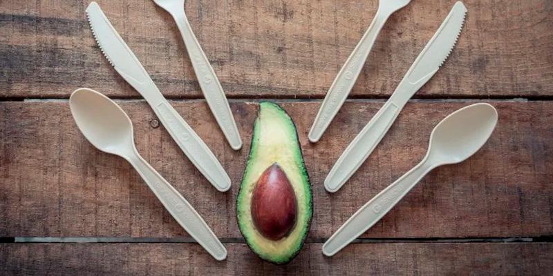 экопосуда из косточек авокадо