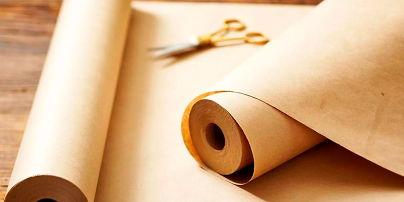 выбираем крафтовую бумагу