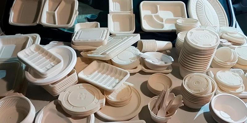 использование биоразлагаемой посуды