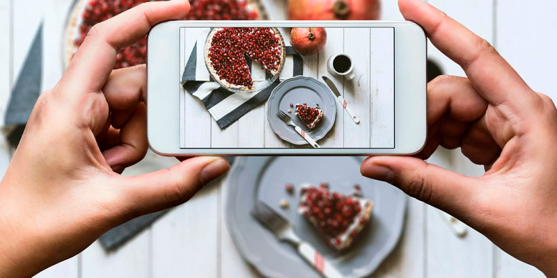 Значение фотографии врекламе еды