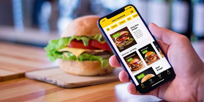 Мобильное приложение доставки еды